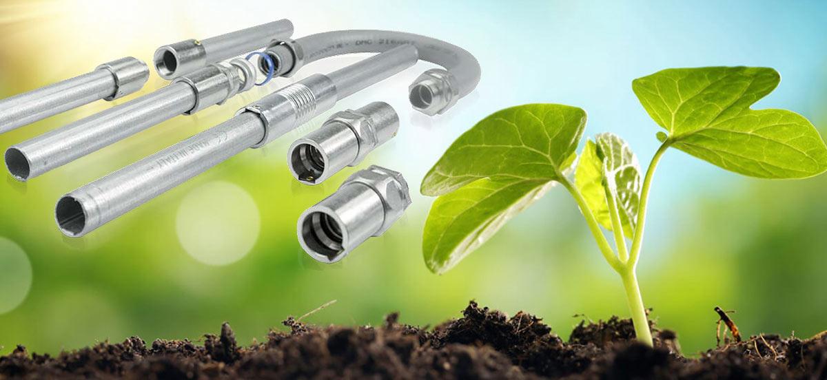 Экологичность в использовании металлических труб, металлорукава, установочных коробок, крепежных элементов Stilma(Стилма)